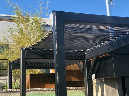 Architectural ATN Net Shade Canopy