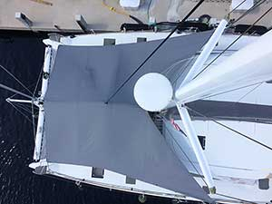Forward Awning from Above