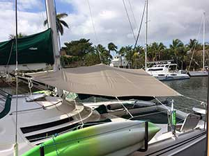 Forward Awning for Multihull Manta 42