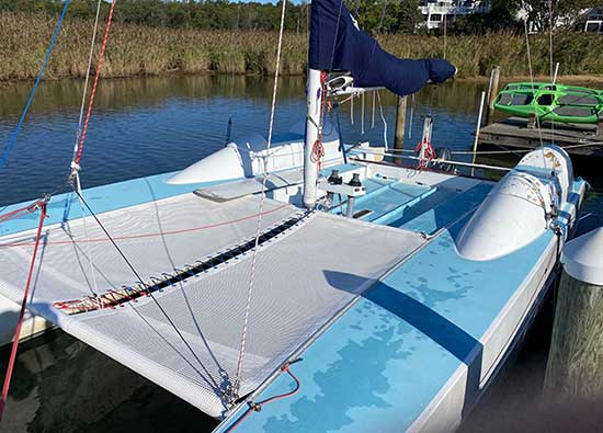 ATN Multihull Net- Stiletto with Supertramp